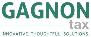 GAGNONtax logo H + tagline