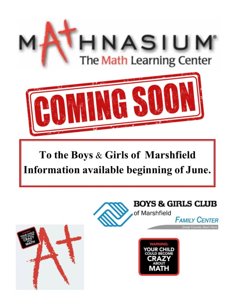 Mathnasium Coming Soon